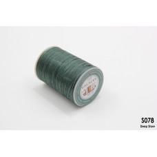 Вощеная нить Galaces   Плоская   Полиэстер   0.8 мм   S078  