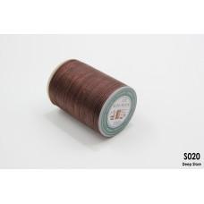 Вощеная нить Galaces   Плоская   Полиэстер   0.8 мм   S020  