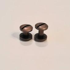 Винты Старая медь линза диаметр 10 мм