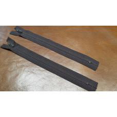 М-300. Молния OPTI пластик,  цвет коричневый, длина 24  см.